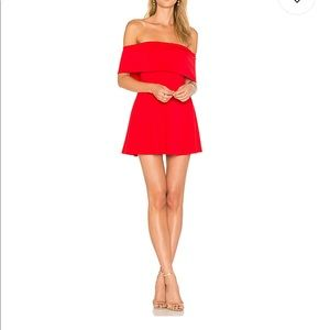 REVOLVE LPA Dress 265 in Cayenne